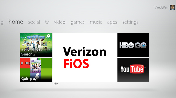 Verizon FiOS Customers Can Now Signup For Xbox LIVE Service