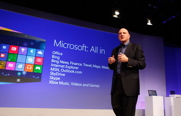 Microsoft All In Steve Ballmer