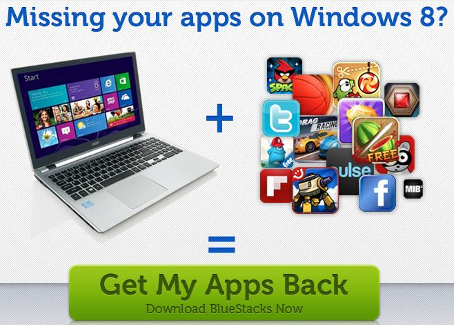 New BlueStacks App Optimized For Surface Pro Brings 750,000 Android