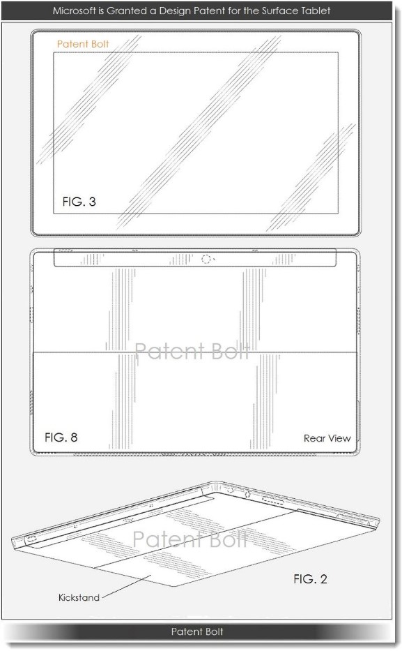 Microsoft Surface Patent Design1