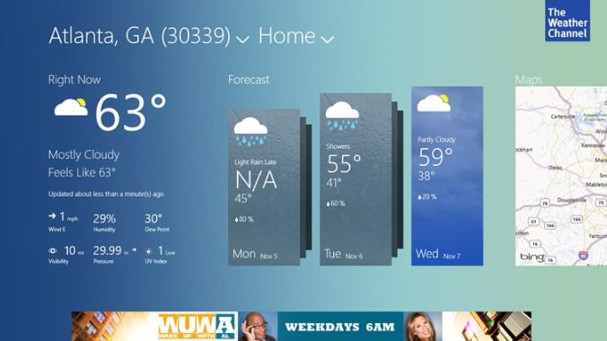 The Weather Channel App Updated With Revamped UI In Windows