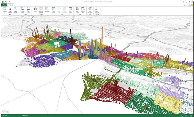 Bing Geoflow Office App