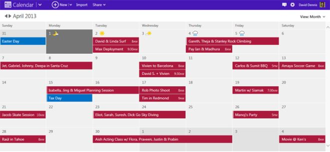 New Calendar Outlook App