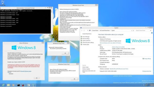 Windows 8 Build 9385