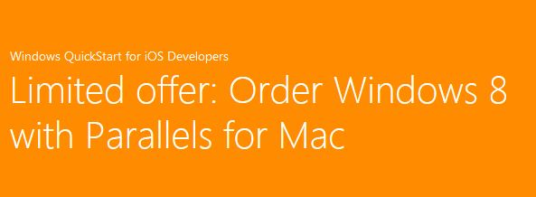 Windows 8 for Mac