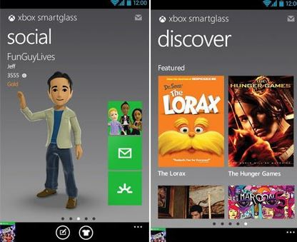 Xbox Smartglass Android Update