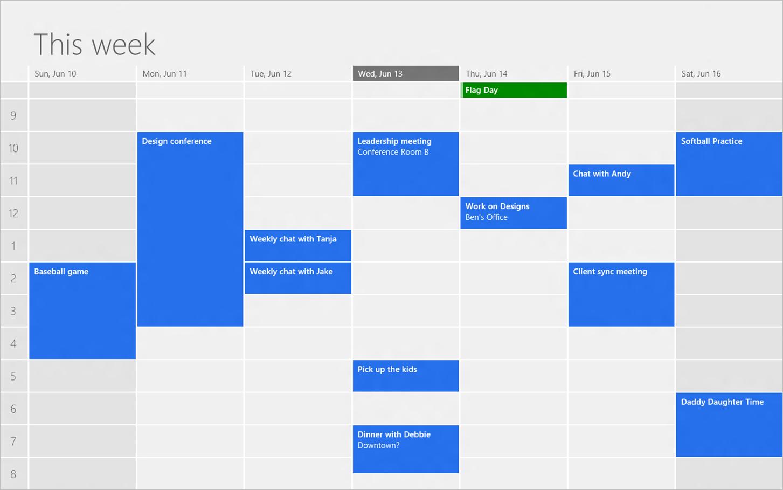 Sync Google Calendar Events To Windows Calendar App Via