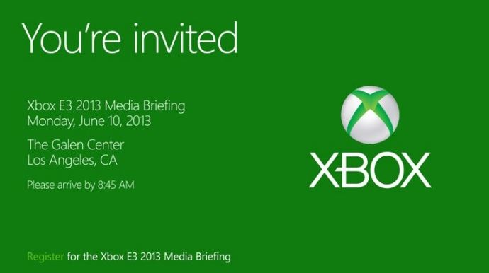 Microsoft Xbox June 10 Invite