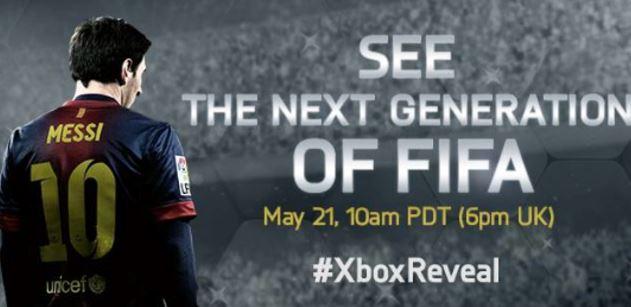 Xbox EA FIFA Reveal