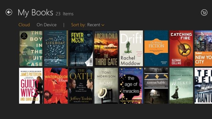 Kindle Windows Store