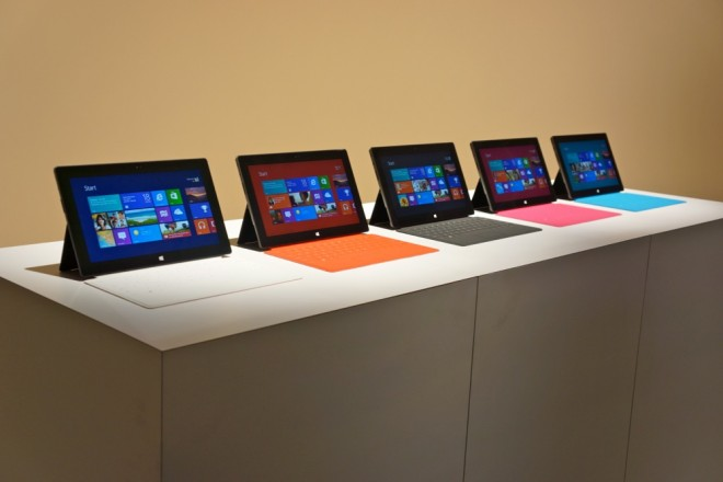 Microsoft Surface RT Available
