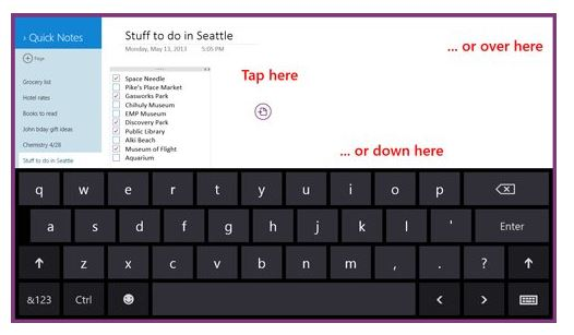 OneNote Windows Store App