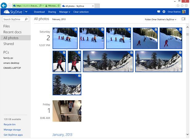 SkyDrive File formats support