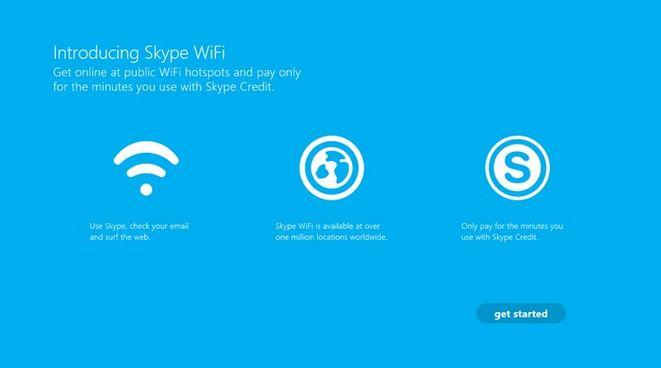 Skype Wifi Windows Store