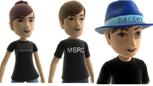 Microsoft Bluehat Xbox Avatars