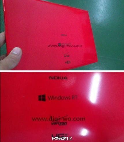 Nokia Windows RT Verizon Red