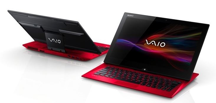 Sony Vaio Red Ultrabooks