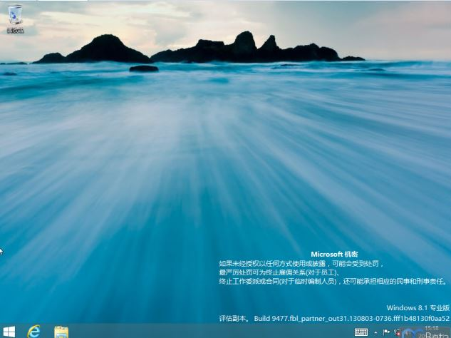 Windows 8.1 RTM Build 9477