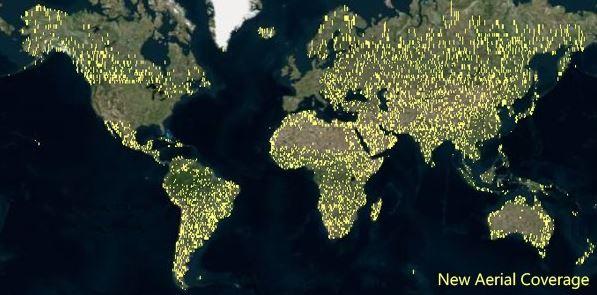 Bing Arieal Maps