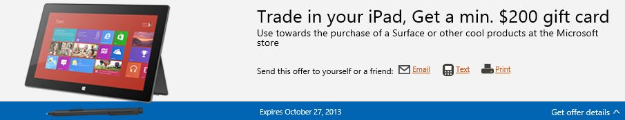 Microsoft Surface deal