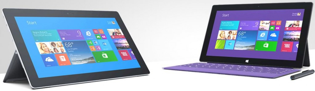 Surface 2 & Surface Pro 2