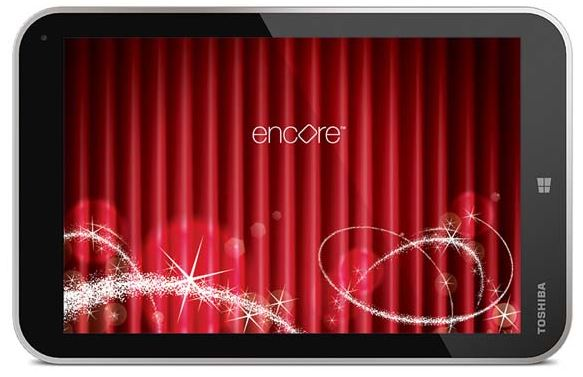 Toshiba Encore Windows Tablet