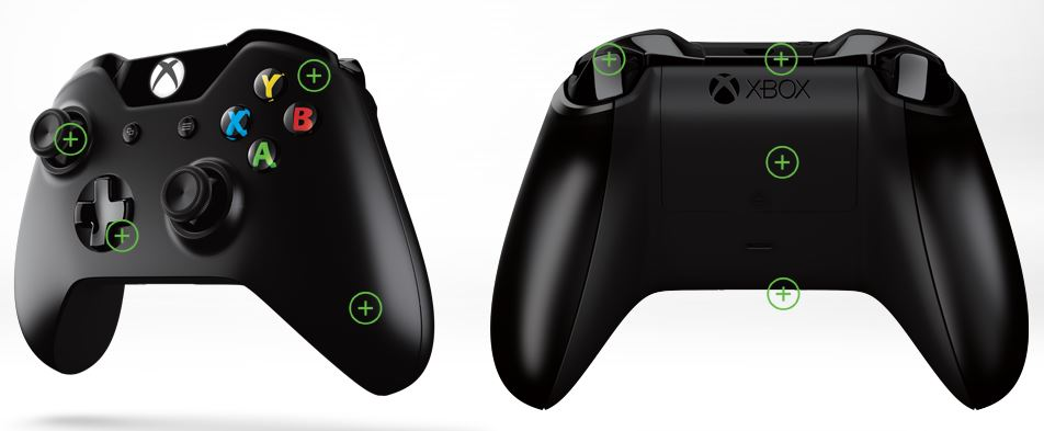 XBox One Controller Back