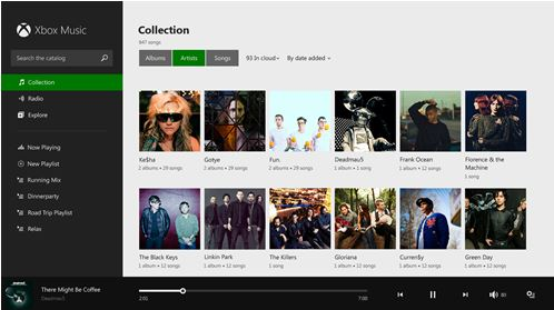 Xbox Music Windows 8.1