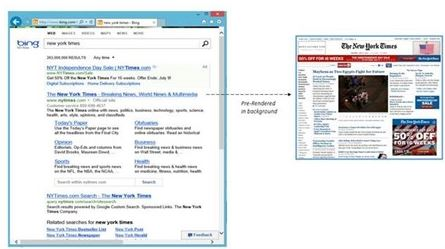 Bing on Windows 8.1 IE11