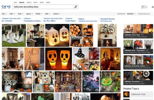 Bing pinterest image search