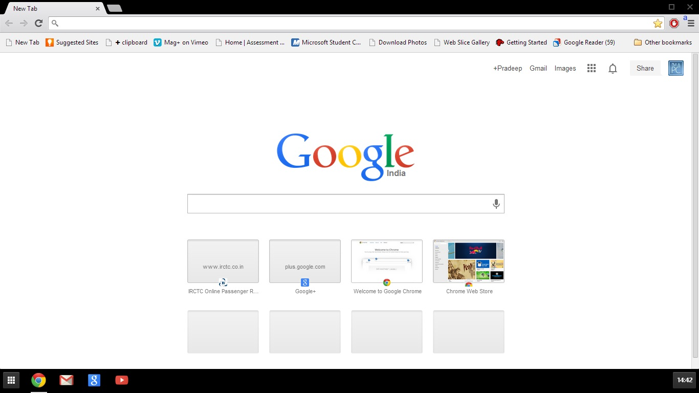 Chrome Windows 8 App