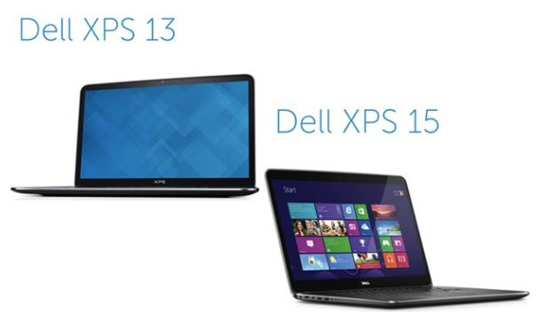Dell XPS 15 and XPS 13
