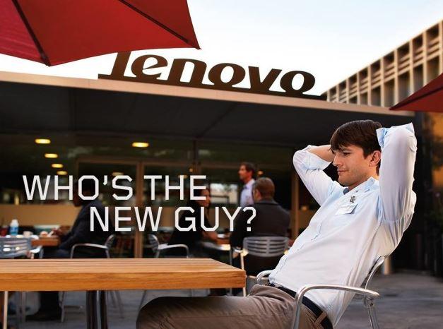 Lenovo Aston Kutcher