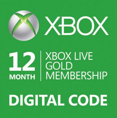Microsoft Xbox LIVE Subscription