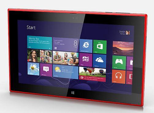 Nokia Lumia 2520 Specs