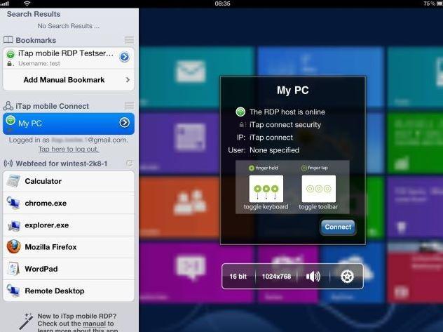 iTap Microdoft Windows