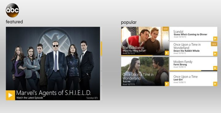 ABC Player Watch ABC Windows App