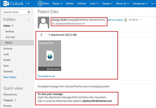 Office 365 Encryption