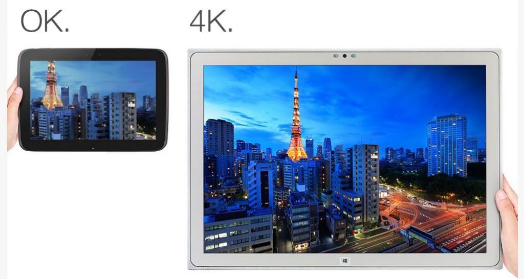 Panasonic 4K Screen