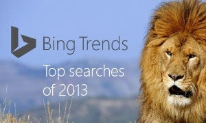 Bing Trends Lion