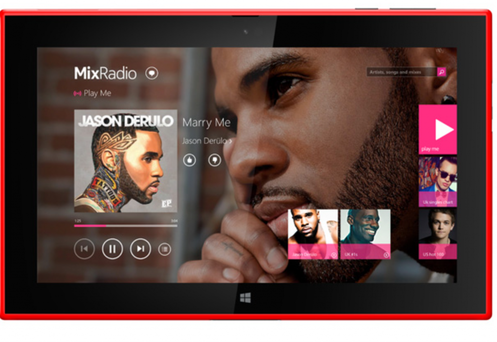Nokia MixRadio Windows
