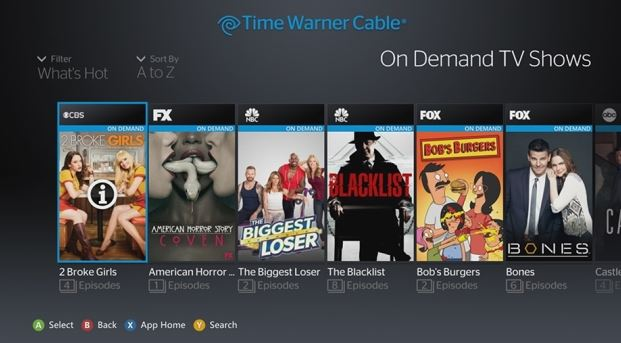 Time Warner Cable Xbox App