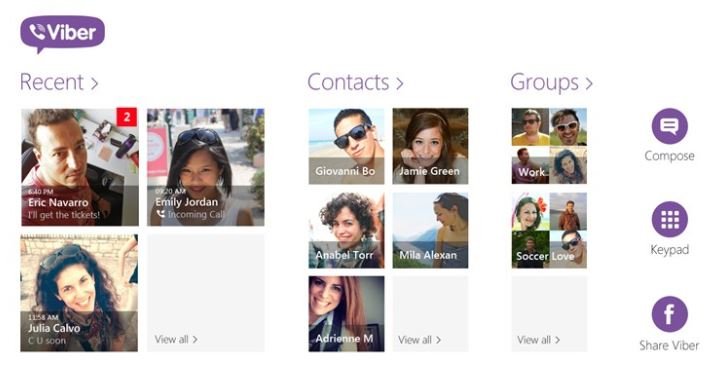 Viber Windows app