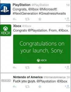 Xbox One PS4 Nintendo