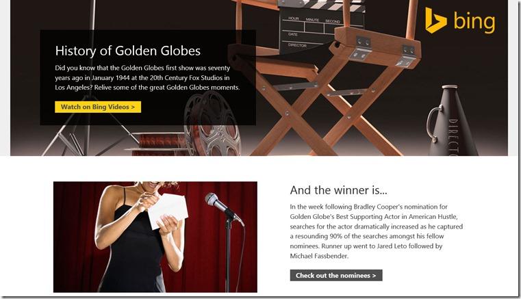 Bing Awards