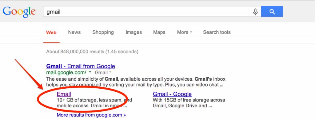 Gmail Glitch