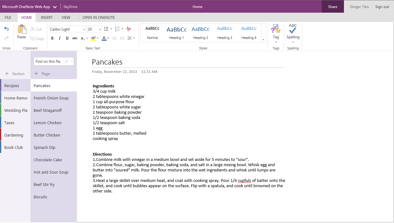 microsoft revamps onenote, one place to access all your own and