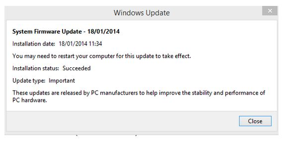 Surface Pro 2 firmware fix
