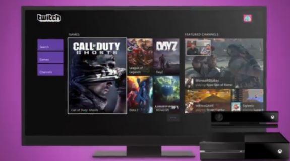 Xbox Twitch TV app