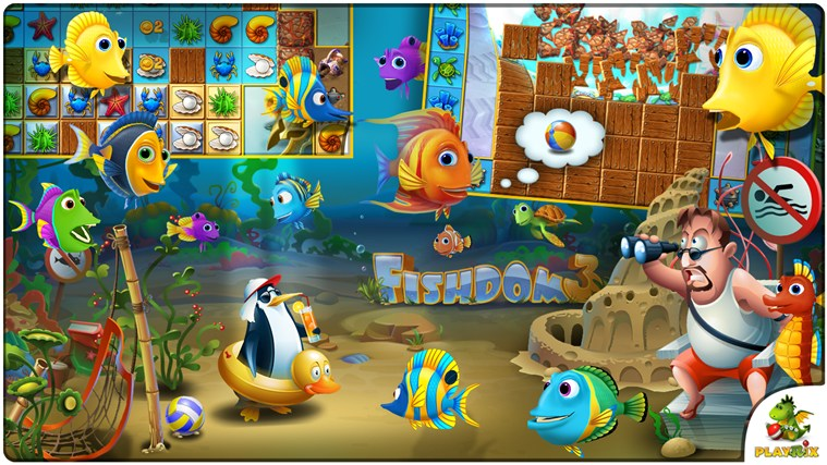 Fishdom 3 Windows Store